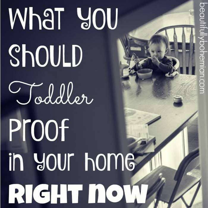 What You Should Toddler Proof in Your Home RIGHT NOW!!!
