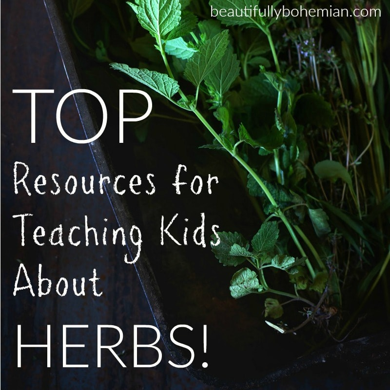 Top resources for teaching kids about herbs! Great list!