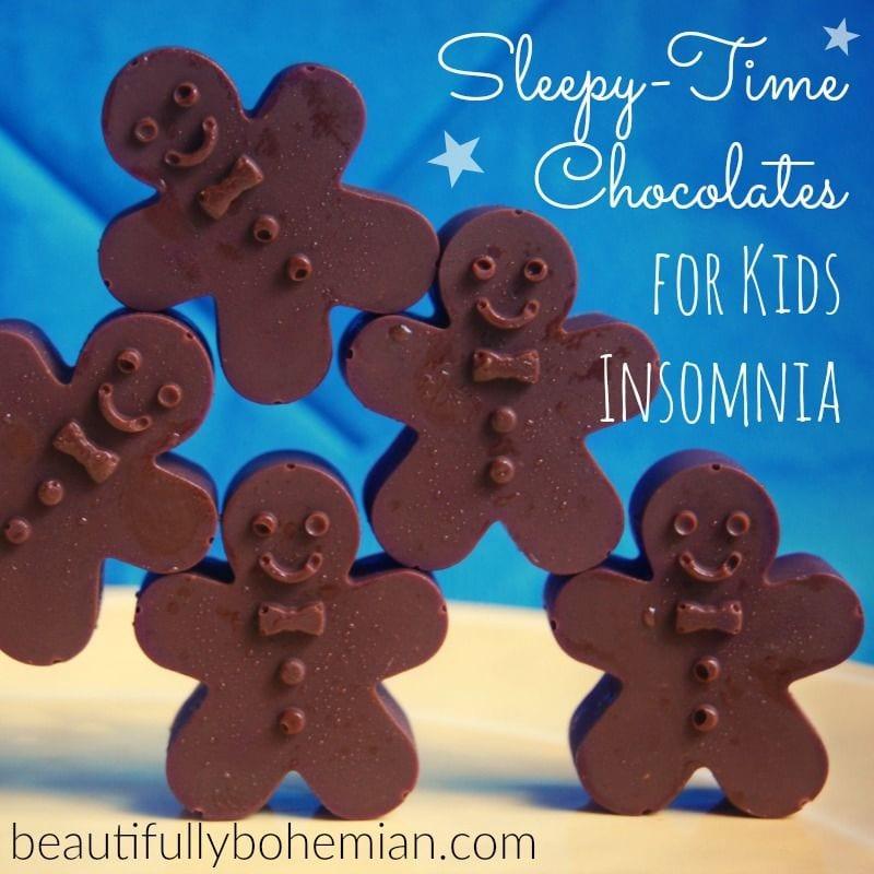 sleepy men chocolates for kids insomnia