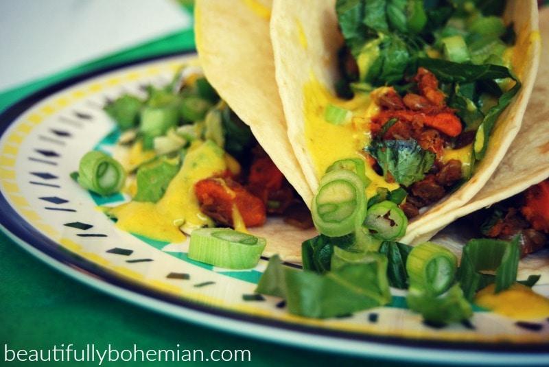 vegan soft tacos