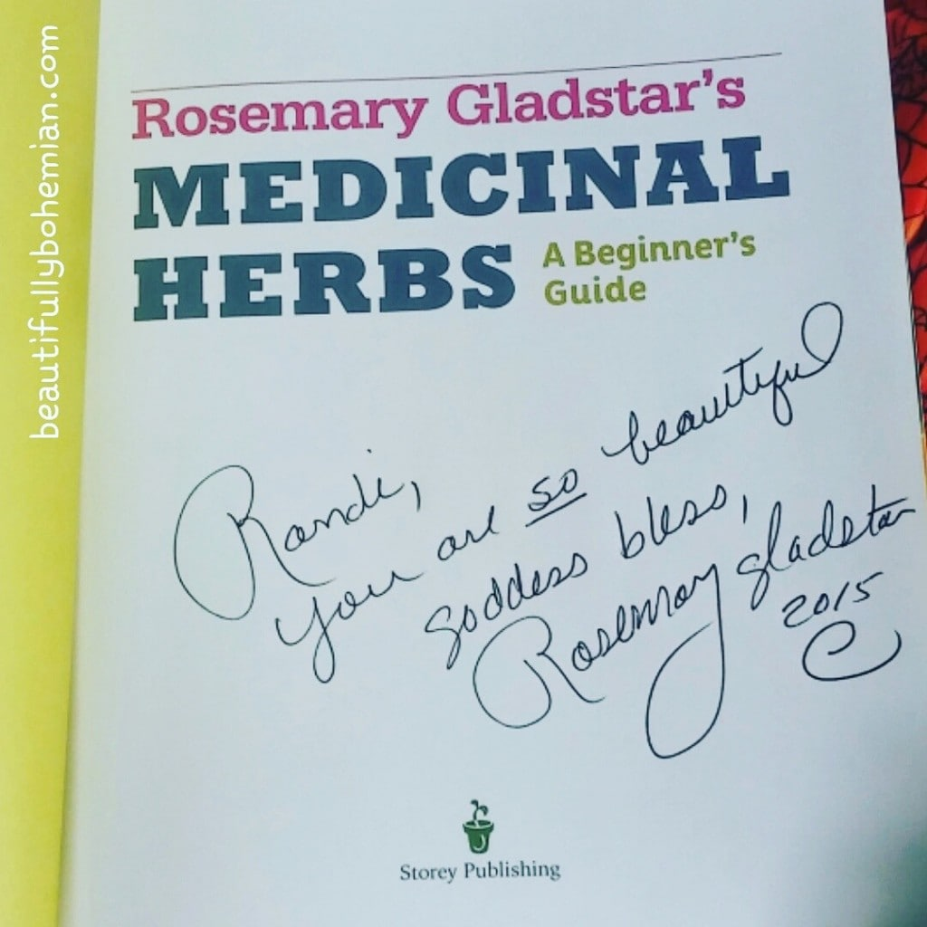 rosemary gladstar book signing