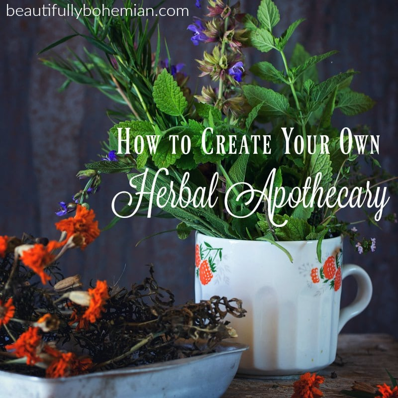 creating your herbal apothecary