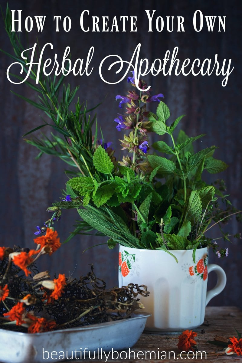 Create your own herbal apothecary!