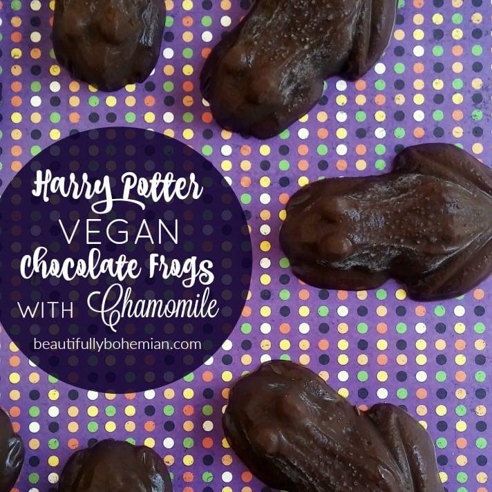 Harry Potter Vegan Chocolate Frogs RECIPE