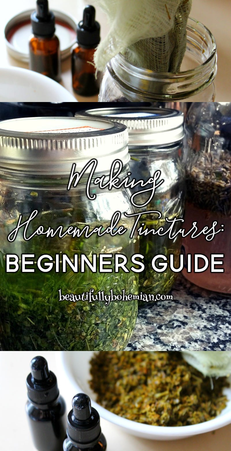 Homemade Tinctures Beginners Guide!