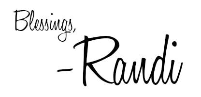Randi's signature