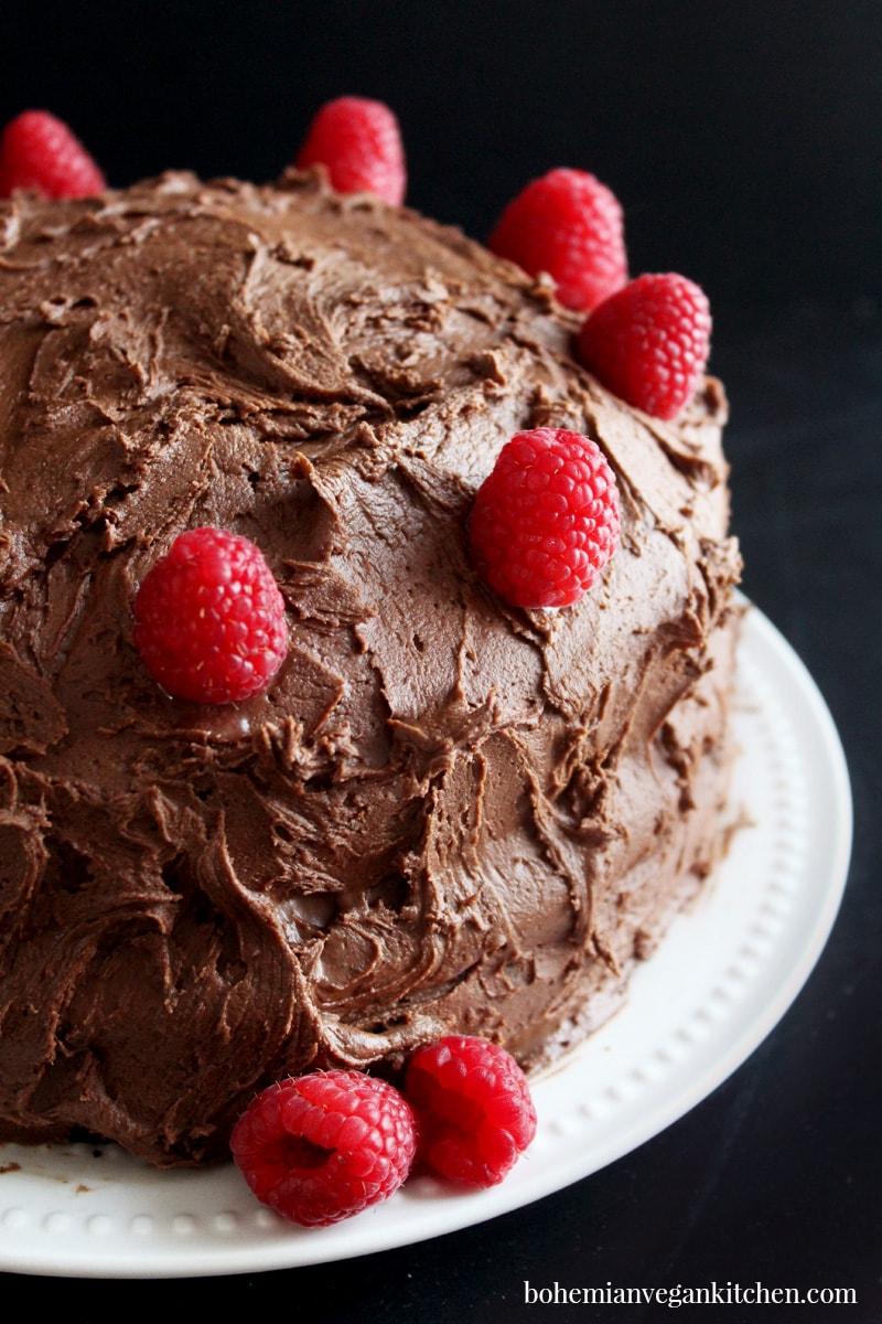 Cake Homemade Vegan Birthday