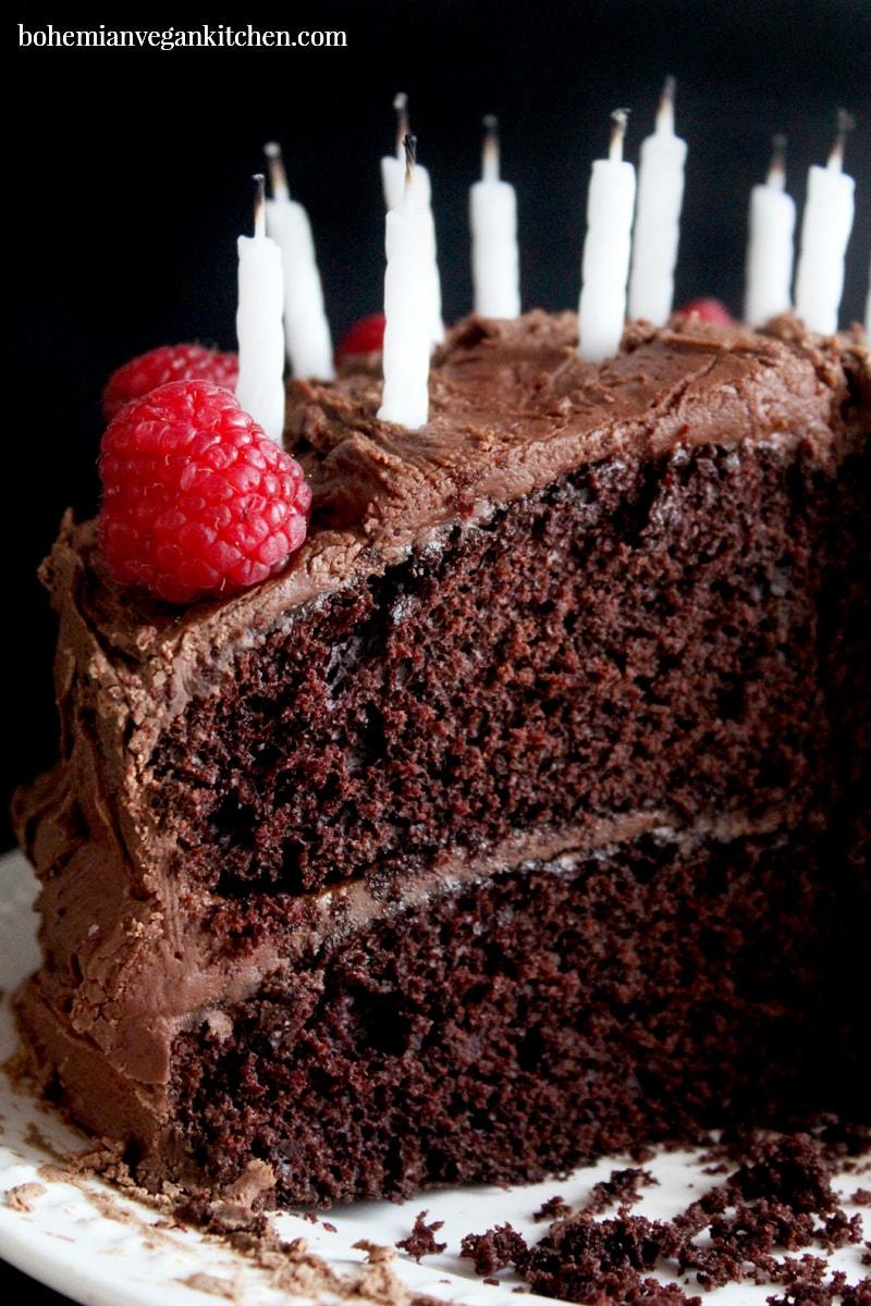 Enjoyable The Best Vegan Allergy Friendly Birthday Cake Youll Ever Make Personalised Birthday Cards Epsylily Jamesorg