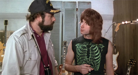 A movie still from Spinal Tap.