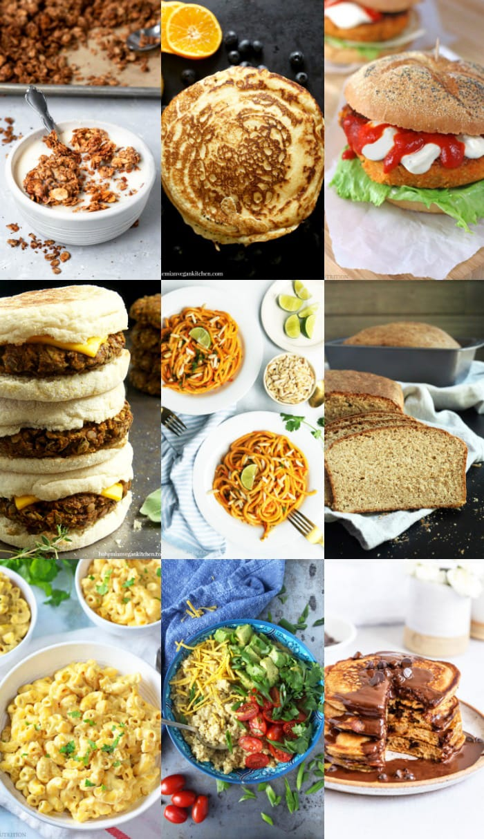 When times get tough, not only do you need to be prepared with a healthy food supply, but you also need to know how to USE your food supply! I'm sharing 21 easy vegan recipes using common pantry items so you can bulk up and stay safe. #veganemergencyfood #veganemergencyprepardness #veganpantryrecipes #veganpantrystaples #veganpantrymeals #veganmealprep #veganbulkcooking #bohemianvegankitchen