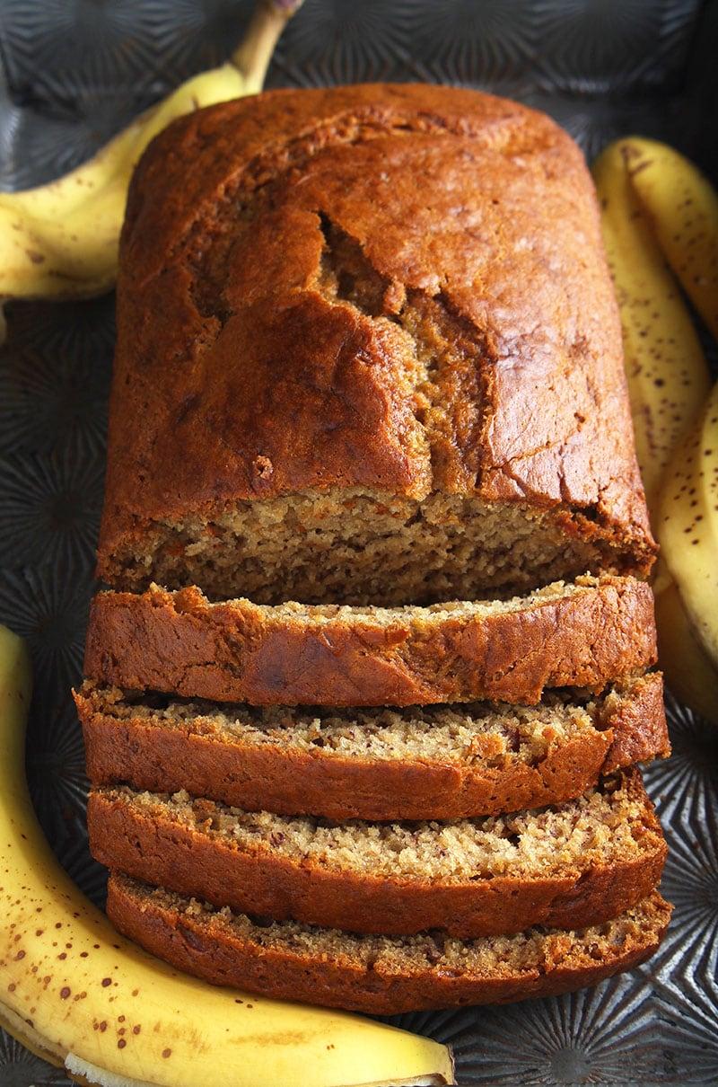 one last picture of vegan banana bread